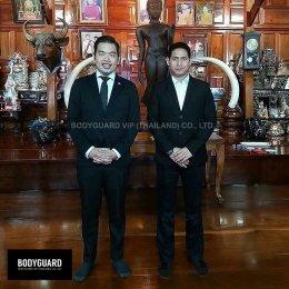 บอดี้การ์ดส่วนตัว คุณพรรณธฤต เนื่องจำนงค์ (คุณพายุ) BODYGUARD VIP THAILAND