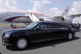 AURUS SENAT LIMOUSINE รถหุ้มเกราะของประธานาธิบดีปูติน รัสเซีย