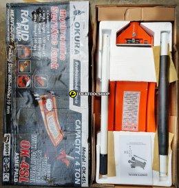 แม่แรง 4 ตัน TON [ สูบคู่ ] OKURA รุ่น OK-4SL แบบ โหลดเตี้ย รุ่นงานหนัก เข้ยกรถ แม่แรงยกรถ HYDRAULIC SERVICE JACK
