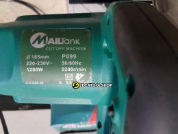 ของแท้!! แท่นตัดไฟเบอร์  ใบตัด 7'' ยี่ห้อ MAILTANK รุ่น P099 ไฟเบอร์7นิ้ว ไฟเบอร์ตัด เหล็ก ไม้ 7นิ้ว ไฟเบอร์ 7 นิ้ว