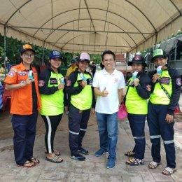 Active Peak ช่วยผู้ประสบภัยน้ำท่วม