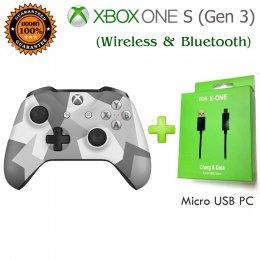 xbox one s ลิมิเต็ด (Wireless & Bluetooth)(Gen)สีขาวเทา