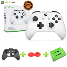 Xbox One S Controller (Gen 3) (Wireless & Bluetooth)สีขาว