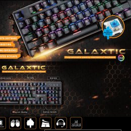 Neolution E-Sport Gaming Keyboard New Galaxtic
