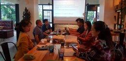 ภาพกิจกรรม การประชุมการใช้ สื่อประชาสัมพันธ์ ทางออนไลน์