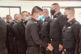 พ.ท.สาธิต หารจันทร์  ผบ.ช.พัน.4 พล.ร.4 เป็นประธานพิธีประดับเครื่องหมายยศนายทหารชั้นประทวน จำนวน 24 นายพร้อมทั้งให้โอวาท แก่กำลังพลที่ประดับยศ