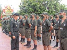 ช.พัน.4 พล.ร.4 ได้จัดพิธีเปิดการฝึกทหารใหม่ ผลัดที่ 1/63 มอบธงประจำหน่วยฝึกทหารใหม่และแนะนำตัวผู้บังคับบัญชาตามลำดับชั้น