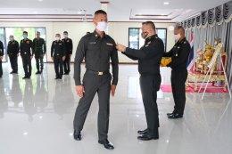 พีธีประดับเครื่องหมายยศ ให้กับสิบตรีกองประจำการ รุ่นปี 2563 และพิธีประดับเครื่องหมายยศครูทหารใหม่ รุ่นปี 2563 ผลัดที่ 1