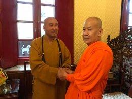 พระพรหมสิทธิ สร้างศาสนสัมพันธ์ พระธรรมจารย์หุ้ยกวง จากประเทศจีน