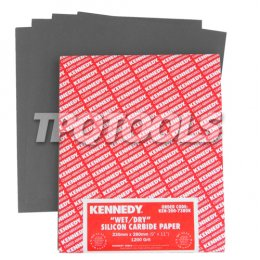 Wet or Dry Silicon Carbide Paper