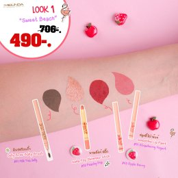 Jelly Brow ( 01 ) + Soda Pop ( 02 ) + Smoothie Lip ( 01 + 03 )