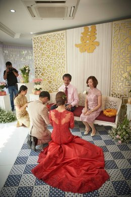 6 เอกลักษณ์ของชุดแต่งงานแบบจีนและวิธีเติมความเป็นจีนลงไปในชุดเจ้าสาวแบบสมัยใหม่