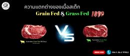 Grass Fed VS Grain Fed