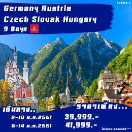 PROMOTION GERMANY-AUS-CZ-SLOVAK-HUNGARY 9D