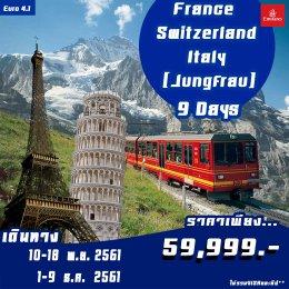 EURO4.1 FRANCE-SWITZERLAND-ITALY  9D6N