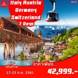 EURO6 ITALY-AUSTRIA-GERMAN-SWITZERLAND  7D4N
