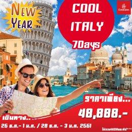COOL ITALY 7D4N (EK)