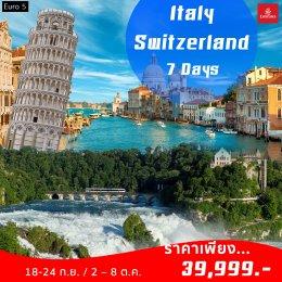 EURO 5 (EK) Italy Switzerland 7D