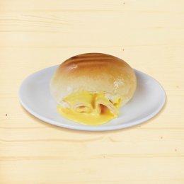 ขนมปังปิ้ง ไส้แฮมดูโอชีส