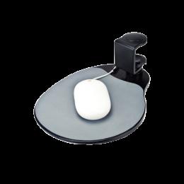 (UM003B) ถาดวางเมาส์แบบหนีบโต๊ะ สีดำ