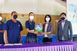 เอกภาพ ร่วมลงนามความร่วมมือทางการค้า(MOU) เพื่อช่วยเหลือกลุ่มเกษตรกรผู้ผลิตข้าวหอมมะลิอ.สระโบสถ์ จังหวัดลพบุรี