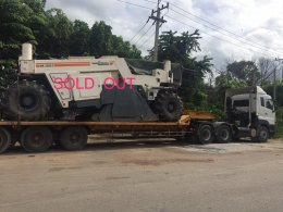 Sold out  Wirtgen W2500S ,TLM22-0  ,Bomag226