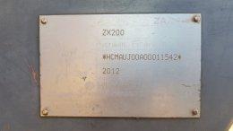 ปิดการขาย แบคโฮมือสอง HITACHI ZX200-1 (ขอบคุณลูกค้าที่ไว้วางใจ)
