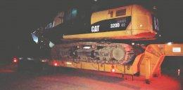รถเทรลเลอร์รับจ้าง ชลบุรี ขนย้ายเครื่องจักรหลักทั่วไทย