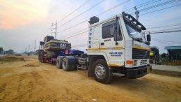 วันทำสัญญาซื้อขายและขนยัายCAT320ปลายทางกัมพูชา