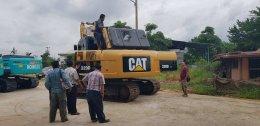 ขอแสดงความยินดี CAT320DGC ปิดการขาย