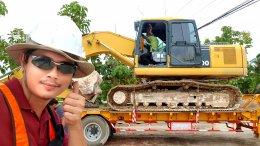 ซื้อขายและขนย้าย KOMATSUPC200-7 น้องเอกน้องผึ้งจังหวัดพิจิตร