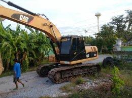 ปิดการขาย รถขุดมือสอง CAT320D พี่เดชโรงโม่บุรีรัมย์