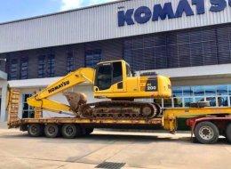 (ปิดการขาย)รถแบคโฮมือสอง KOMATSU PC200-8M0 ซีเรียลสูง