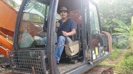 (ปิดการขาย)แบคโฮมือสอง HITACHI ZX200-5G ใช้งาน 7 พันชั่วโมง สภาพเทพบุตร ในพื้นที่จังหวัดเพชรบุรี