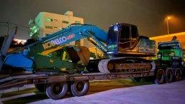 (ปิดการขาย) รถขุดมือสอง KOBELCO SK200-10 ใช้งาน 3 พันชั่วโมง