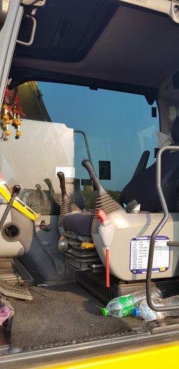 รถแบคโฮมือสอง KOMATSU PC130-8 ใช้งาน 3 พันชั่วโมง(ปิดการขาย)