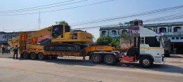 ส่งมอบ รถขุดมือสอง KOMATSU PC200LC-8 บูมยาว 18 เมตร