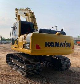 ปิดการขายรถขุดมือสองKOMATSU PC200-8M0พี่จุฬา