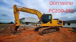 ปิดการขาย  KOMATSU PC200-8N1 สภาพดี พร้อมใช้งาน
