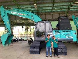 ปิดการขาย ส่งมอบเรียบร้อย  KOBELCO SK200-8 YN12 SuperXM ใช้งานเพียง 9 พัน