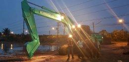 วันทำสัญญาซื้อขายและขนย้าย KOBELCO_SK200_8SuperXM โรงงานทำสีสมุทธสาคร