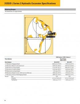 ข้อมูลรถแบคโฮมือหนึ่ง CAT312D2