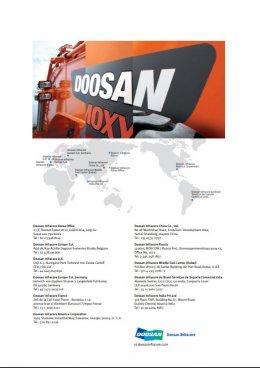 ข้อมูลรถแบคโฮล้อยางมือหนึ่ง DOOSAN DX210W