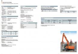 ข้อมูลรถแบคโฮมือหนึ่ง HITACHI ZX210LC-5G