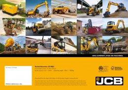 ข้อมูลรถแบคโฮมือหนึ่ง JCB JZ140LC