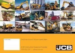 ข้อมูลรถแบคโฮมือหนึ่ง JCB JS300LC