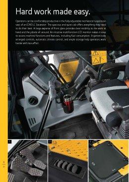 ข้อมูลรถแบคโฮมือหนึ่ง JOHN DEERE E360LC