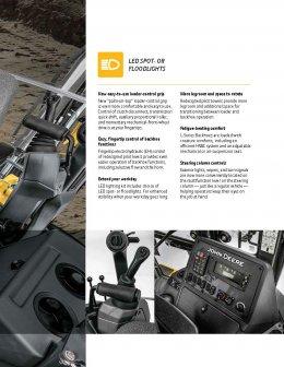 ข้อมูลรถตักหน้าขุดหลังมือหนึ่ง JOHN DEERE L-SERIES BACKHOES  310L / 310SL / 315SL / 410L (ล้อยาง)