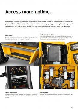 ข้อมูลรถแบคโฮมือหนึ่ง VOLVO EC205D