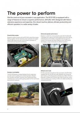 ข้อมูลรถแบคโฮมือหนึ่ง VOLVO EC210D